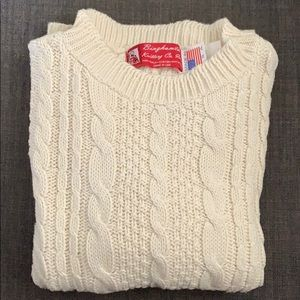 Shirts & Tops - Kids 100% cotton cable knit sweater